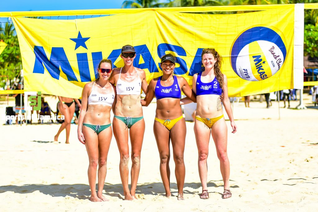 US Virgin Islands women advance in Tokyo Olympic Beach Volleyball qualifiers
